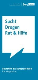 Sucht Drogen Rat & Hilfe - Landesstelle Berlin gegen die ...
