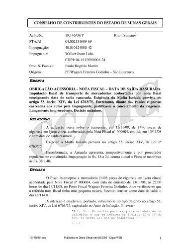 Microsoft Word - 19146091\252.doc - Secretaria de Estado de ...