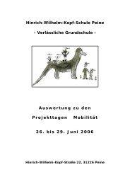Hinrich-Wilhelm-Kopf-Schule Peine - Verlässliche Grundschule ...