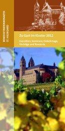 Zu Gast im Kloster 2012 - Abtei St. Hildegard