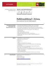 Informationen Für Die Verkehrswacht - Landesverkehrswacht ...