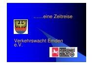 Zeitreise 55 Seiten - Landesverkehrswacht Niedersachsen eV