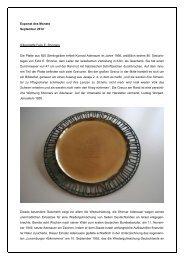 Exponat des Monats - Stiftung Bundeskanzler-Adenauer-Haus