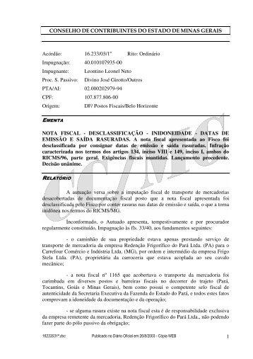 Microsoft Word - 16233031\252.doc - Secretaria de Estado de ...
