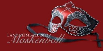 Einladung Landheimball 2012 - Landheim Schondorf