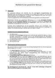 Merkblatt für den gesetzlichen Betreuer (PDF) - Landkreis Göppingen
