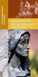 Zu Gast im Kloster 2013 - Abtei St. Hildegard