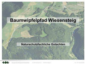 Präsentation Gruppe für ökologische Gutachten, Dr. Gunther Matthäus