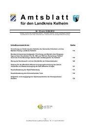 15/2012 - Landkreis Kelheim