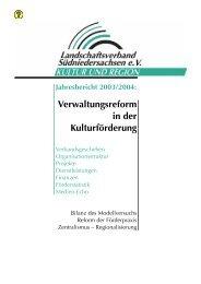 Landschaftsverband Südniedersachsen - Jahresbericht 2003/2004 ...