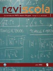 Revista Reviscola n. 2 - Institut Jaume Huguet