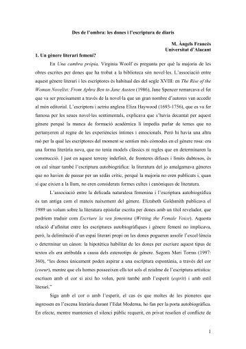 Les dones i l_escriptura de diaris L_Espill.pdf - RUA