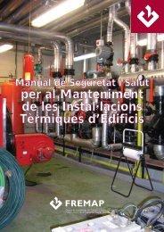 per al Manteniment de les Instal·lacions Tèrmiques d'Edificis - Fremap