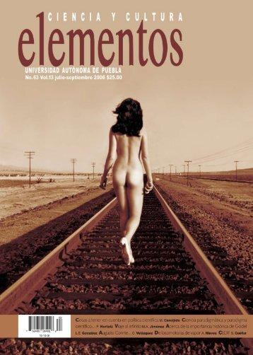 U M A R I O - Revista Elementos