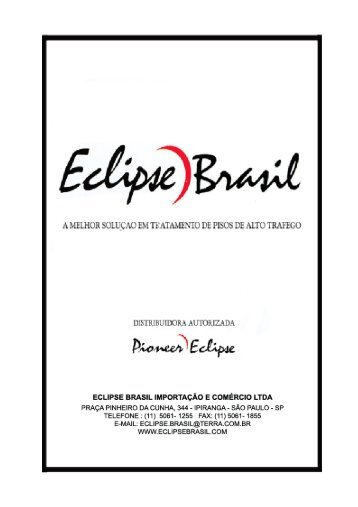 Manual Supervisores - Eclipse Brasil