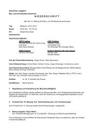 Niederschrift BIA 2013-01-23 - Gemeinde Langgöns