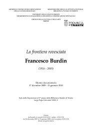 I Quaderni dell'Archivio - Circolo della Cultura e delle Arti
