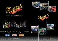 Folheto Explicatico 5 Passos Meguiar's 2012 - Meguiars