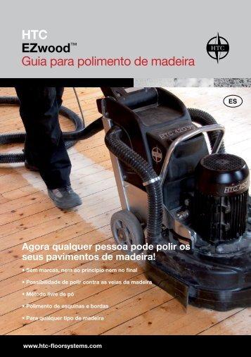 HTC EZwood™ Guia para polimento de madeira - Anzeve