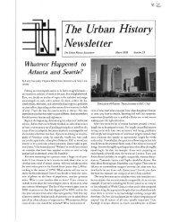 Number 33 - The Urban History Association - University of Dayton