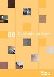 IĖ†ndices Cat. Gama 08.indd - Roca Tiles