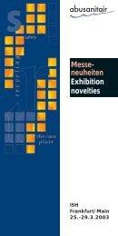 Messe- neuheiten Exhibition novelties - Abu-plast Kunststoffbetriebe ...