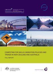 Migration Policies and Trends in New Zealand and Australia