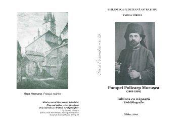 Pompei Policarp Moruşca - Biblioteca Judeteana ASTRA Sibiu