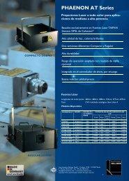 PHAENON AT Series - LaserAnimation SOLLINGER GmbH