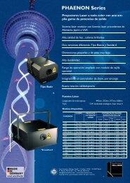 PHAENON Serie.PDF - LaserAnimation SOLLINGER GmbH