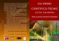 VIII PREMI CIENTÍFICO-TÈCNIC - Ajuntament d'Algemesí