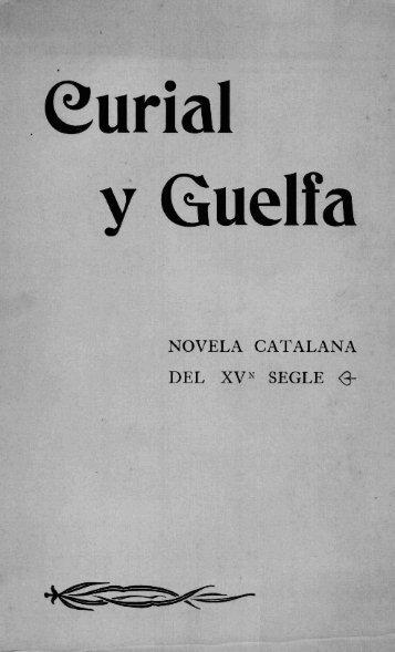 novela catalana del xvn segle - Reial Acadèmia de Bones Lletres