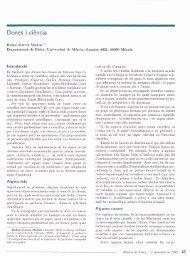 Dones i ciencia - Raco