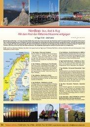 Nordkap Bus, Rad & Flug Mit dem Rad der ... - Launer Reisen