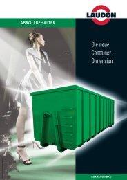 Die neue Containerdimension - Laudon GmbH & Co. KG