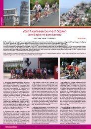 Vom Gardasee bis nach Sizilien - Launer Reisen