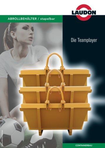 ABROLLBEHÄLTER / stapelbar - Laudon GmbH & Co. KG