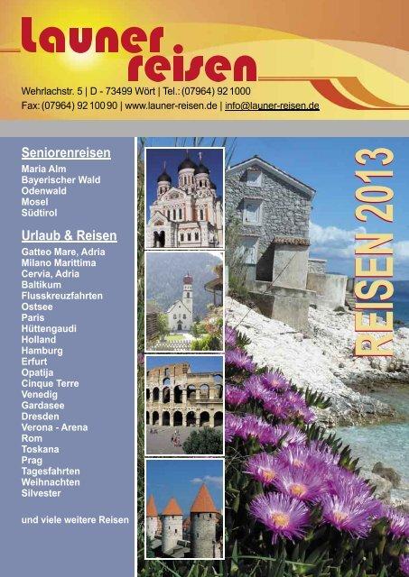 Download als PDF ca. 2 MB - Launer Reisen