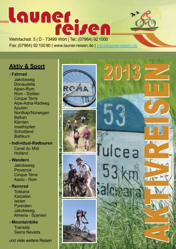 Download als PDF ca. 17 MB - Launer Reisen