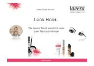 lavera Trend sensitiv Look Book