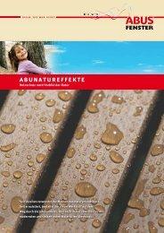 abunatureffekte - ABUS Fenster Gmbh