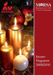Kerzen- Programm 2009/2010 - abc markets