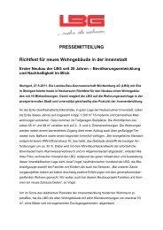 Richtfest für den LBG-Neubau in Neckarsulm - Landes-Bau ...