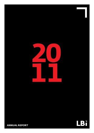 Annual Report 2011 - LBi