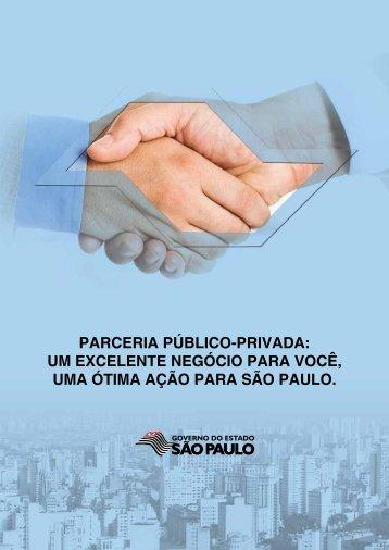 parceria público-privada - Investe SP - Governo do Estado de São ...