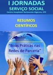 """RESUMOS CIENTÍFICOS """"Boas Práticas nas Redes de Parceria"""""""