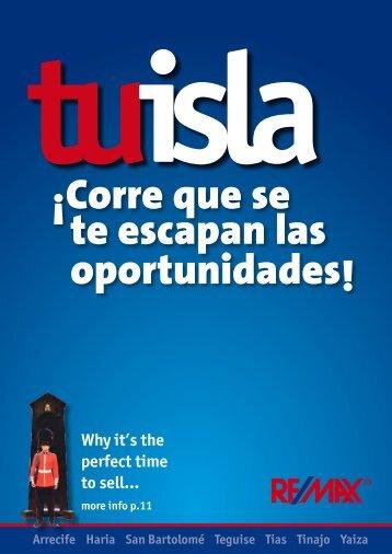 ¡Corre que se te escapan las oportunidades! - Remax Lanzarote