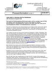 Presseinformation A-08-11 - LBV