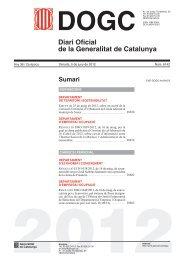 Diari Oficial de la Generalitat de Catalunya - Col·legi d'Enginyers ...