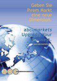 Geben Sie Ihrem Markt eine neue Dimension. abc markets Upgrade ...